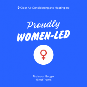 Clear Air Conditioning and Heating - Proudly Women Led